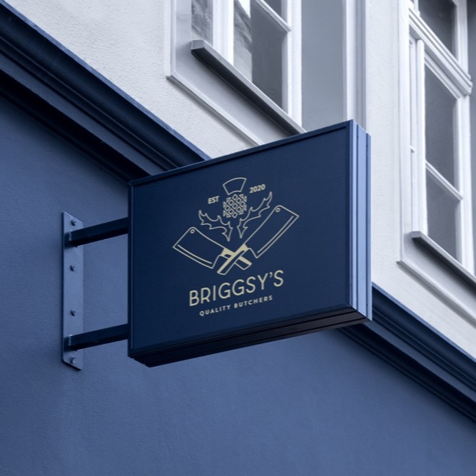 Briggsy's Butchers - Signage