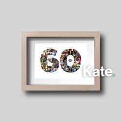 Bespoke 60th Birthday print