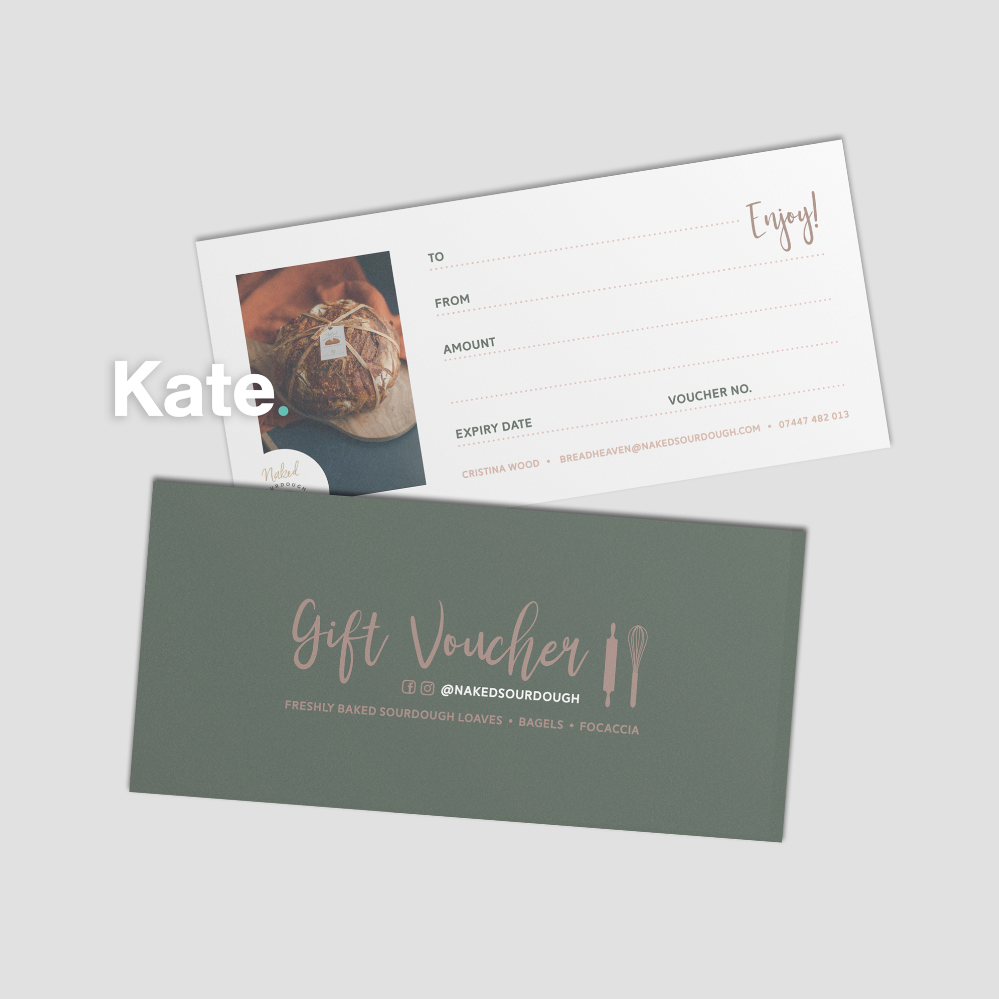 Naked Sourdough Gift Voucher