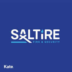 Saltire Fire and Security Logo
