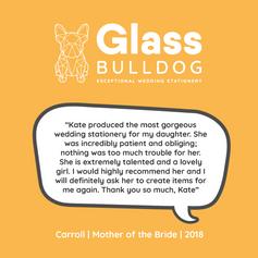 Glass Bulldog review Carroll 2018