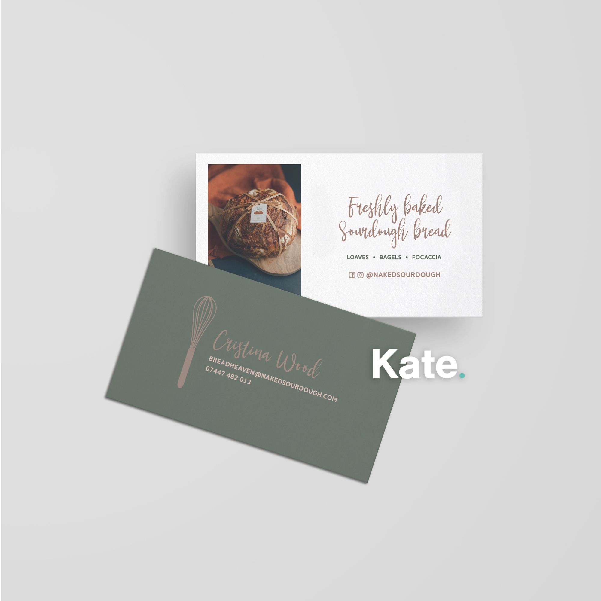 Naked Sourdough Business Card