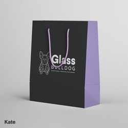 Glass Bulldog bag