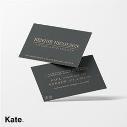 Rennie Nicolson Business cards