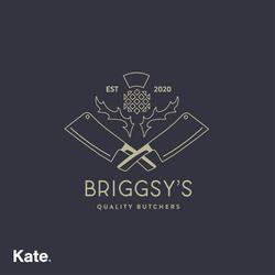 Briggsy's Butchers Logo