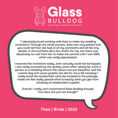 Thea - glass bulldog wedding stationery review.png