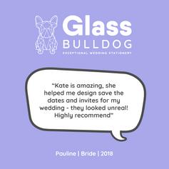 Glass Bulldog review Pauline 2018