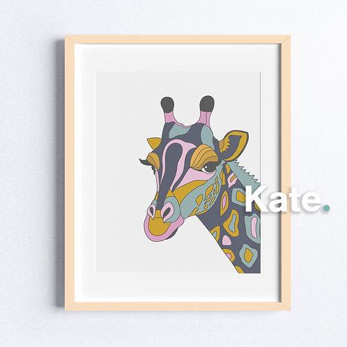 Original Giraffe print