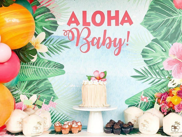 Baby Shower Coconuts