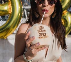 Birthday Coconut