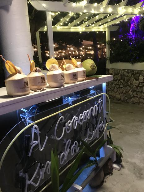 Elegant evening Coconuts