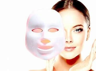 LED Light Therapy Mask for Face & Neck