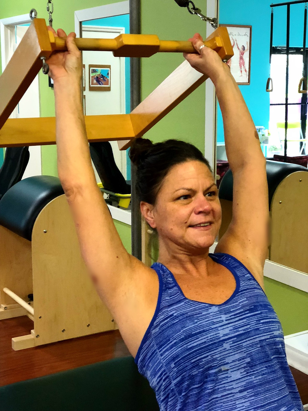 Our new Pilates instructor Dawn Ward