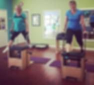 time to fly #pilates #pcov #dynamicduo