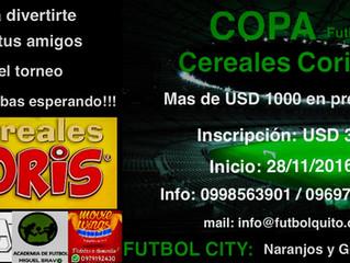 Primera Copa Cereales Coris