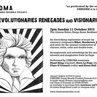 Revolutionaries, Renegades & Visionaries