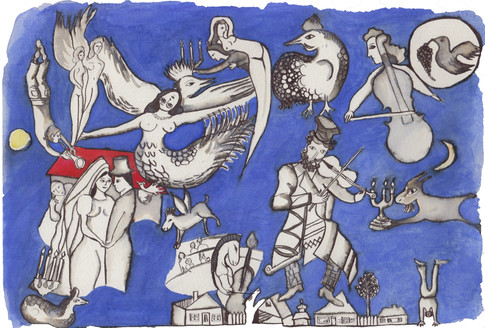Hommage to Chagall