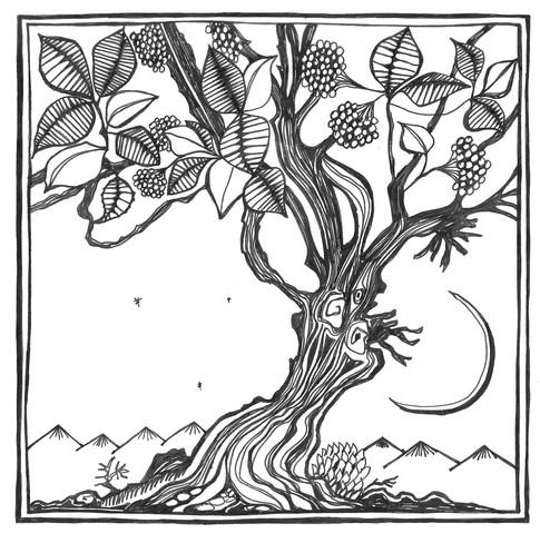 Midsummer tree