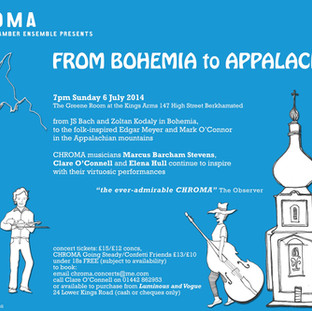 From Bohemia to Appalachia