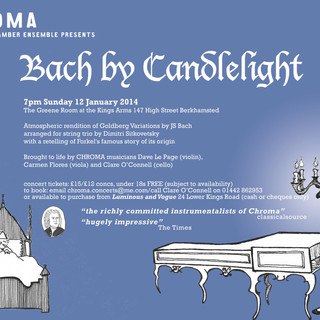 Bach by Candlelight