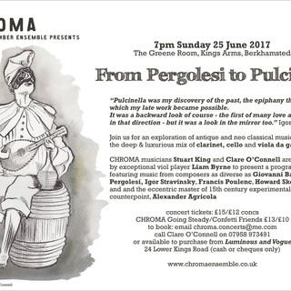 From Pergolesi to Pulcinella
