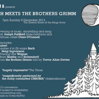 Bach meets the Brothers Grimm