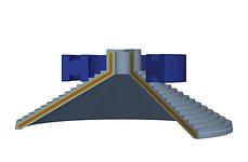 Ball-bearing induction heater simulation
