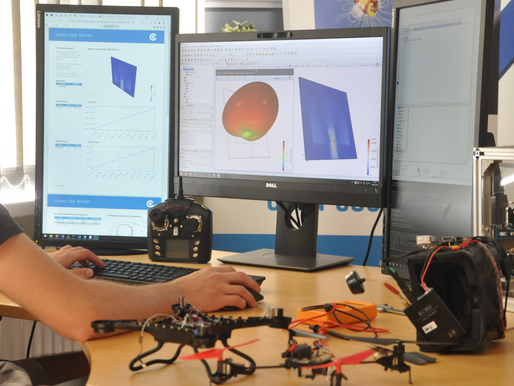 Drone antenna types & simulation