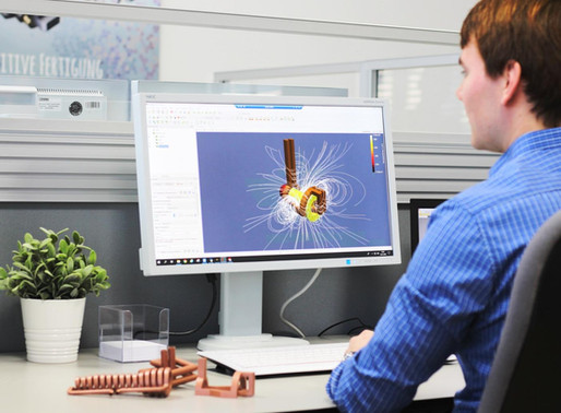 Simulation software and 3D printers make better copper coils