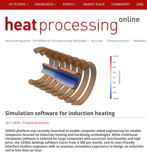 Publication on Heat Processing magazine