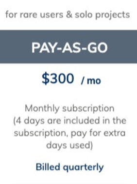 CENOS PAY-AS-GO plan 3 month deposit