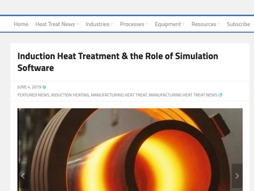 CENOS featured in Heat Treat Today