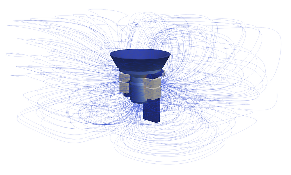 Induction heating software: 3D Simulation of a Single Shot Hardening
