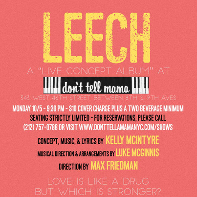 LEECH @ Don't Tell Mama