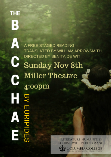 The Bacchae @ Columbia University