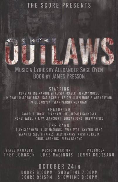 Outlaws @ Le Poisson Rouge