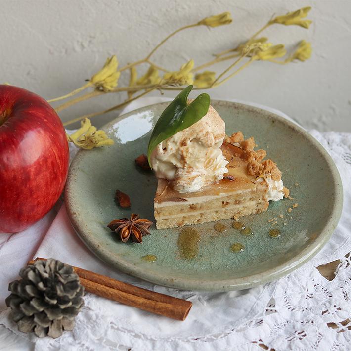 アップルジンジャーチャイケーキ