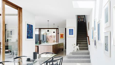 Clifton Hill House - IV40 Entry Doors