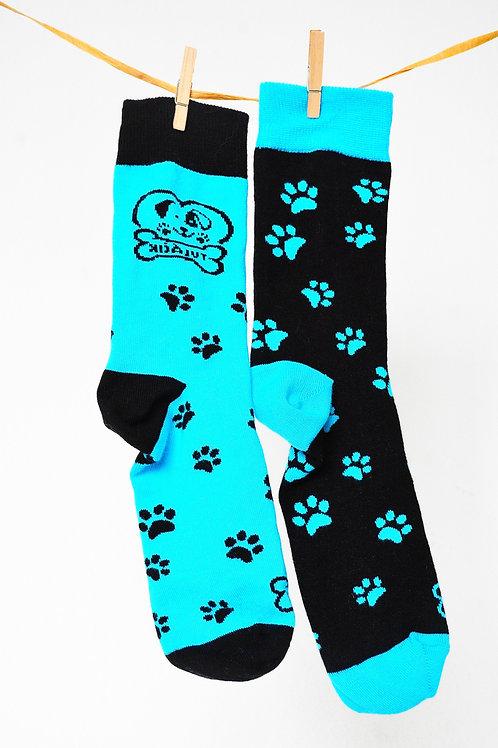 Ponožky Tuláčik - modročierne