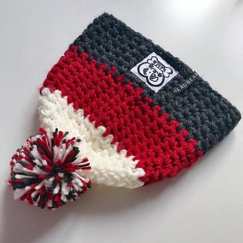 Pletená čiapka UNI červená