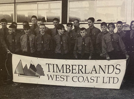 TIMBERLANDS WC Junior Sports News - 1996