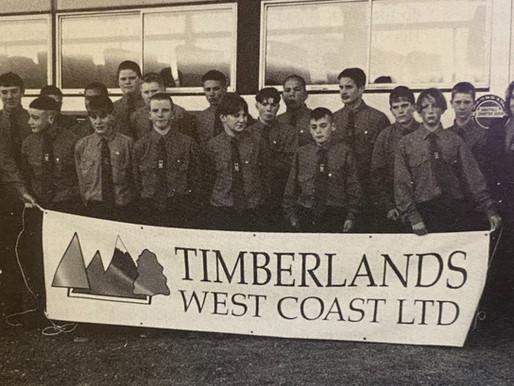 TIMBERLANDS WC Junior Sports News - 1996