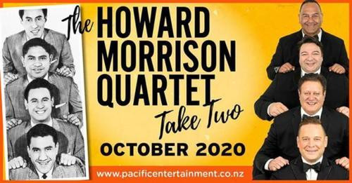 THE HOWARD MORRISON QUARTET TAKE TWO COMING TO GREYMOUTH