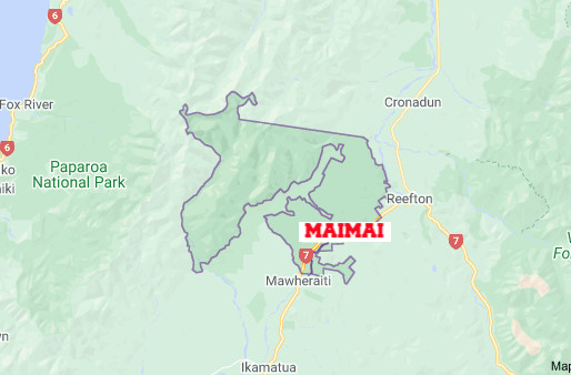 Fatal crash, Maimai, Buller District