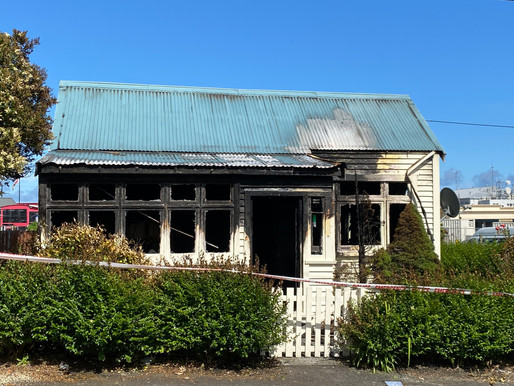 Greymouth suspicious NY fires