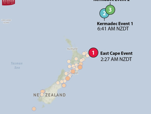 Large offshore earthquakes - what happened and future scenarios