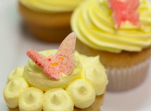 TPP student cupcakes brighten Daffodil Day