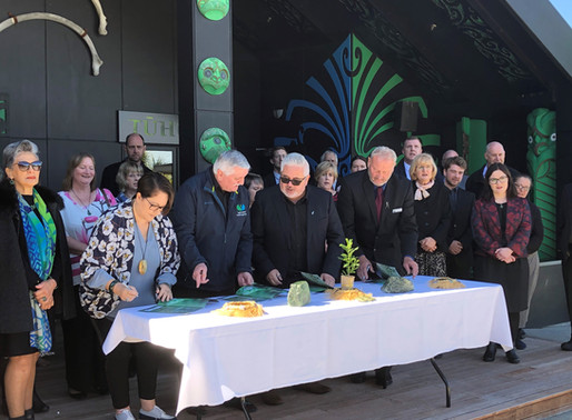 WC Regional Council and Poutini Ngāi Tahu break new ground