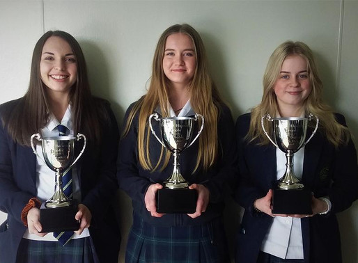 Dance Trophies Donated