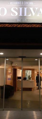 Entrada do Restaurante O Silva
